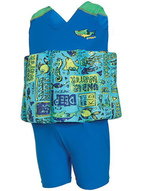 Zoggs Learn To Swim Floatsuit Kids Blue